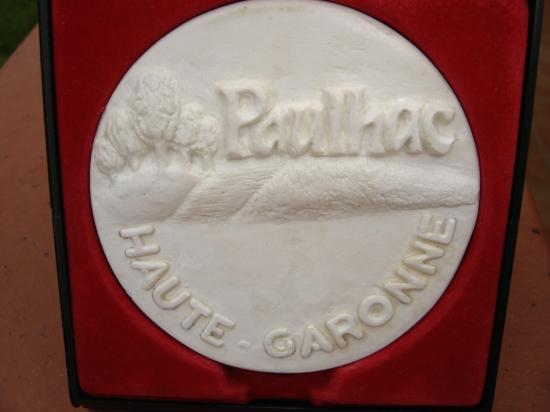 Médaille pour la Ville de Paulhac