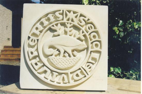 sceau pour le musée de Villaries
